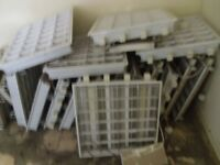Recessed Modular Fitting 600x600 for Suspended Ceiling - Job Lot of 16-Open to Offers