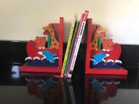 Book ends. Kids. Animal themed.