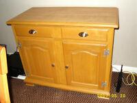 Solid pine buffet sideboard or cupboard