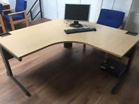 Office Tables & chairs £100 desk £50 chair & lounging chair £50
