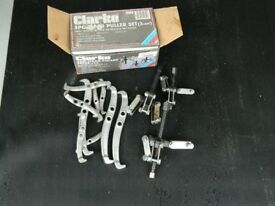 Clarke 3 piece puller set