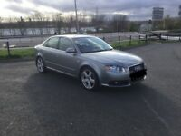 AUDI A4 2.0 TDI S LINE ,MANUAL ,MOT FEB 2019 , TIMING BELT BEEN DONE ,CRUISE CONTROL ,RECENT SERVICE