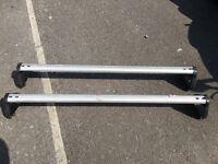 1 x Vauxhall vectra roof bars