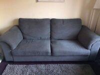 Ikea 3 seater hensta grey sofa