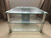 Glass TV stand - choice of 2
