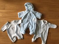Emile et Rose set of 3, baby boy, size: New baby