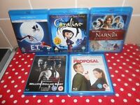 BLU RAYS X5 - £5 FOR ALL