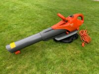 SOLD - Subject to collection - Flymo Scirocco 3000W Electric Garden/Leaf Blower and Vacuum