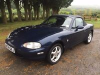 Mazda Mx5 S 1.8 Blue MOT *Great Summer Fun*