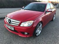 07 Mercedes C220 CDI Sport Automatic AMG, FSH, HPI Clear, Low Owners