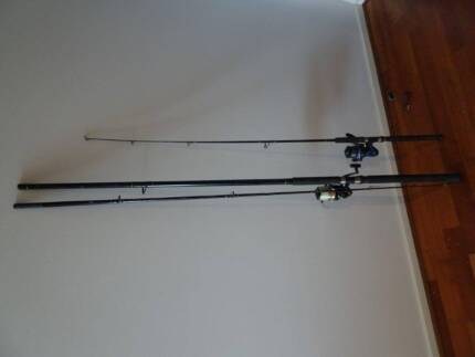 Two fishing rods. Elsternwick Glen Eira Area Preview