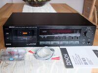 Denon DR-M20 Precision Audio 3-Head Stereo Cassette Deck