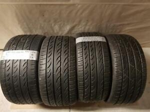 295/25/22 - 265/30/22 kit été staggered pirelli pzero