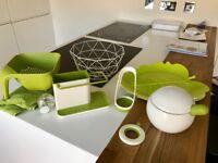 Joesph Joseph green kitchen collection