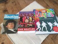 3 The Beatles books ( 2 new, 1 vintage)