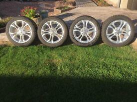 4 x Snow Tyres & Rimms