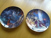 Royal Doulton Collectable Plates (£8 is for the two)