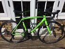 2016 Monster Green Specialized Allez E5 Road Bike 54Cm Immaculate Condition