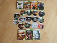 VARIOUS XBOX360 GAMES