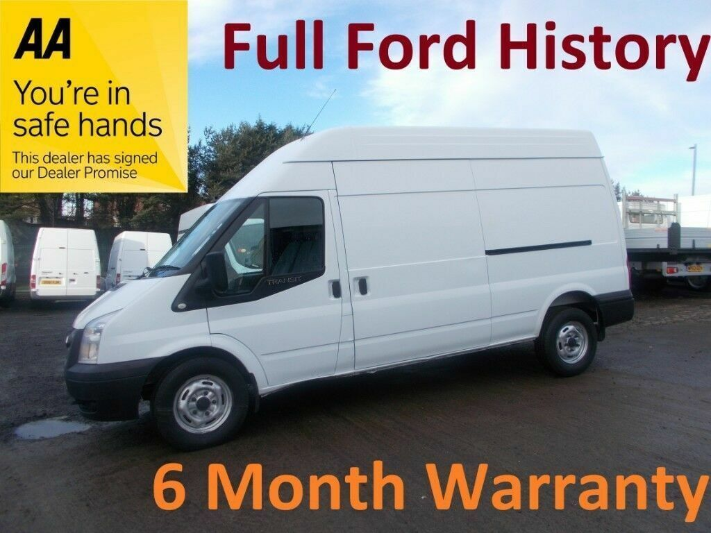 e1dca51b98dbbe Ford Transit 350 RWD 2.2 TDCI 125 LWB H Roof   12 Month MOT   FULL FORD  HISTORY   LEASE Co DIRECT