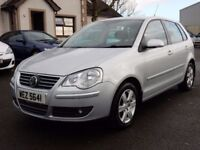 2009 volkswagen polo 1.4 tdi motd may 2018 only £30 pound a year tax