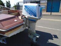 SUZUKI 85HP OUTBOARD BOAT ENGINE Trim + tilt
