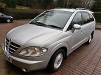 SSANGYONG RODIUS 2005 - BIGGEST FAMILY CAR ON THE MARKET