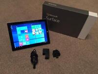 Microsoft Surface 3 64gb fanless computer tablet. Running latest Windows 10 intel X7