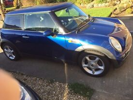 Mini One in excellent condition for year must sell