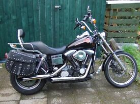 1993 Harley FXWG 1340 Wideglide