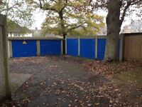 Large lock-up Garage available on a secure site for storage or vehicle or items.