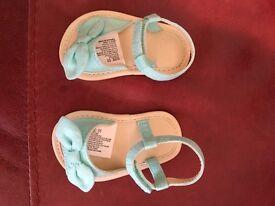 Brand new baby girl sandals shoes size 1