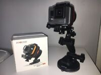 GoPro/smart phone gimbal + gopro suction cup