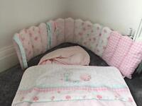 Mothercare crib set