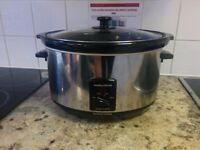 Morphy Richards 6.5L (7qt) slow cooker