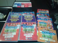 Match Attax Trading Card Albums 2007/8 2008/9 x 4 plus large amount spare cards