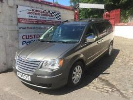 CHRYSLER GRAND VOYAGER 2.8 CRD Limited 5dr Auto (grey) 2010