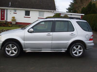 Mercedes ml 270 silver