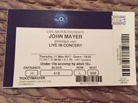 John Mayer Ticket