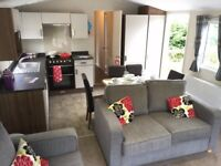 Luxurious static caravan for sale in Newquay on quiet park close to stunning golden beaches!