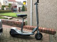 Razor E300 electric scooter with seat.