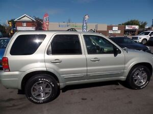2005 Ford Escape Limited Automatic, LEATHER, SUNROOF, 4X4