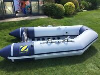 """ZODIAC """"SEA BISCUIT"""" INFLATABLE DINGHY WITH OUTBOARD & ACCESSORIES see details"""