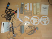 Nintendo Wii Games Console + 21 Games + loads of extras