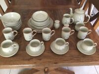 Denby tableware- Discontinued Daybreak pattern 36 pieces