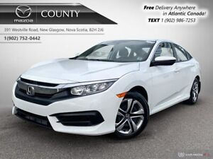 2016 Honda Civic $59/WK+TAX! ONE OWNER! AUTO! REVERSE CAM! LOW K