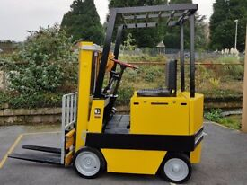 Caterpillar M30 Electric Counter Balance Forklift Truck & Battery Charger - Used Only for 6499 hrs!