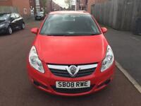 Vauxhall corsa 1.0 Patrol One Owner year 2008 millege 62000