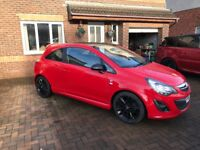 STUNNING 2014 RED LIMITED EDITION CORSA. 22k MILEAGE. FULLY SERVICED, YEARS MOT