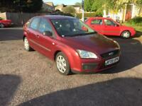Ford Focus 1.6 LX 5dr service history
